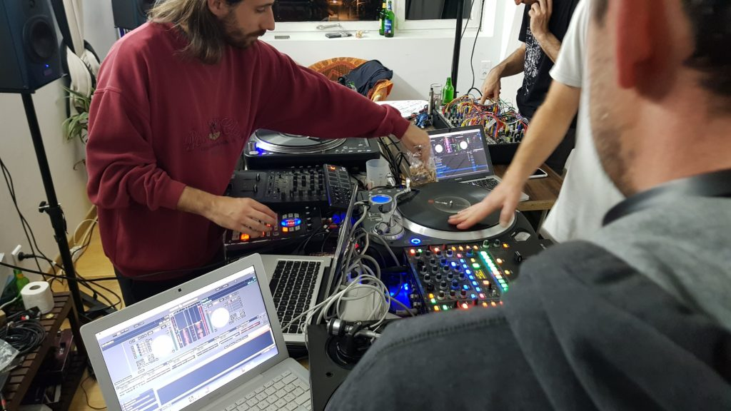 Scratch modular orchestra en résidence à lab'ut
